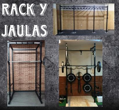Rack y jaulas